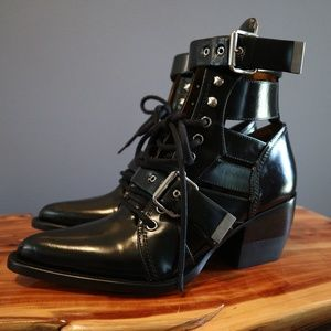 Chloe Rylee Cut Out Boot - BN without Box - Sz 39